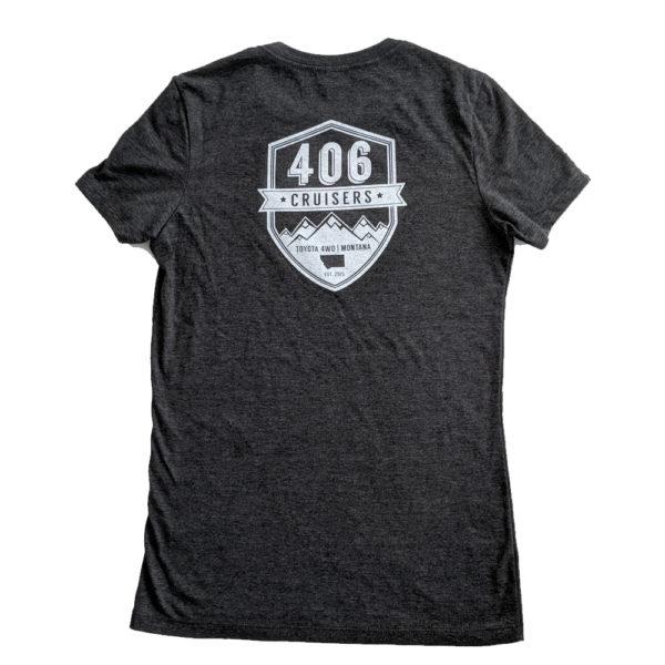 Womens Dark Grey Heather T-Shirt